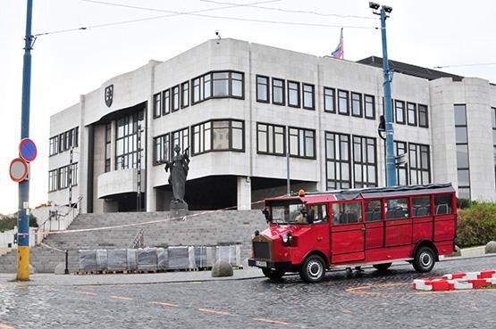 Bratislava Bummelzug